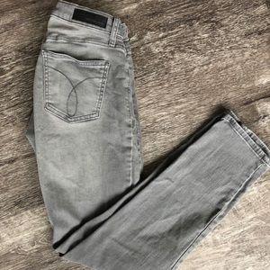 Calvin Klein Gray Skinny Jean